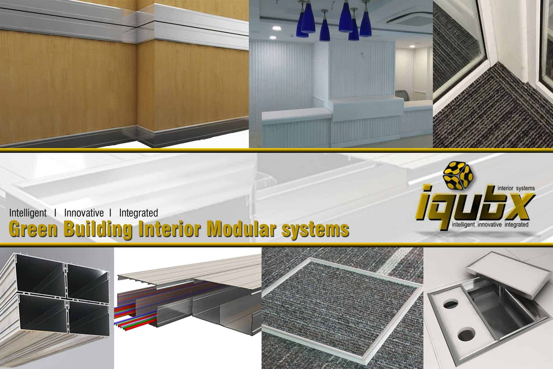 IQUBX Innovative Green Building product Modular systems: interiors ...