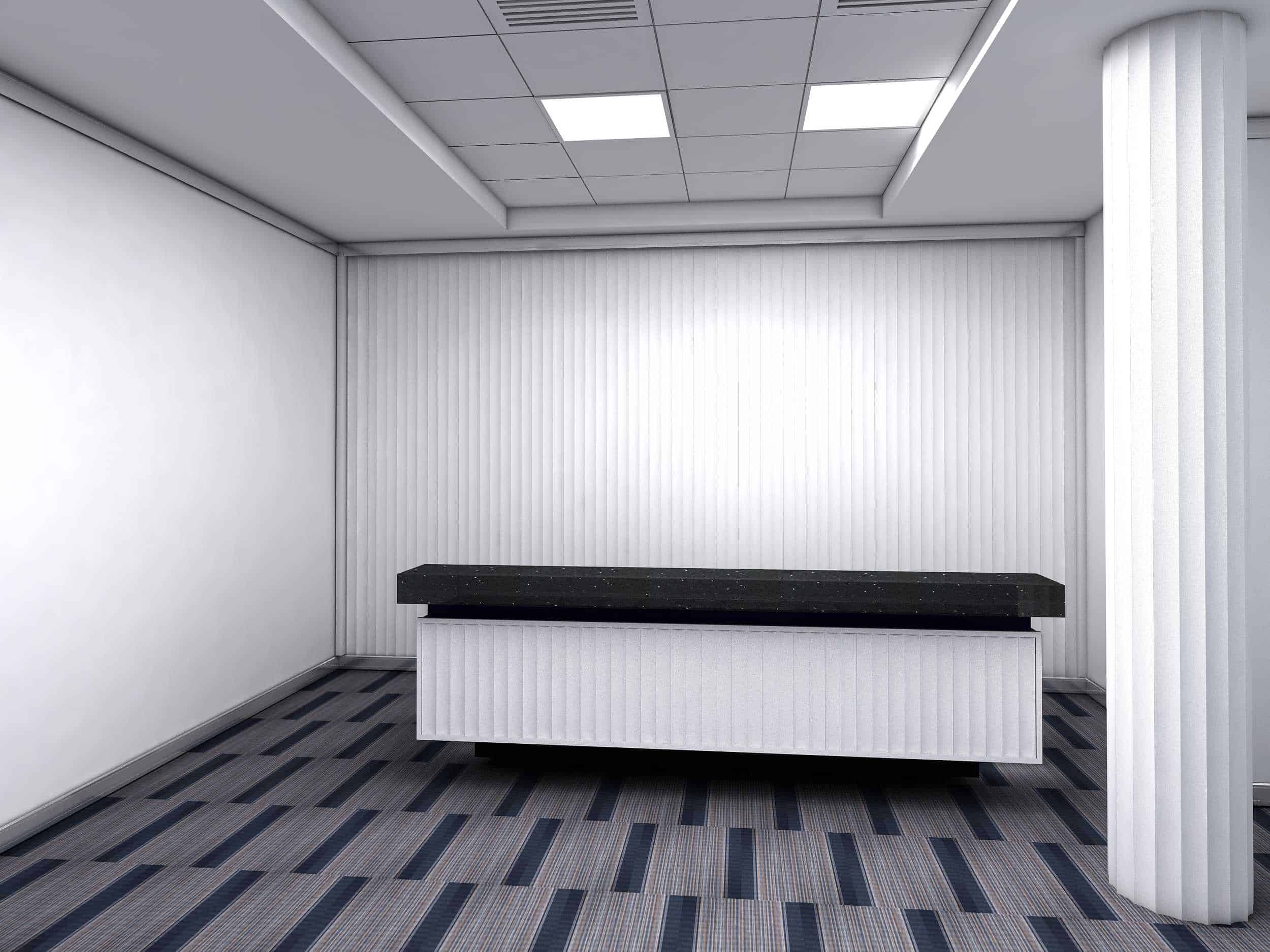 IQUBX internal wall paneling can be used on partitions, columns, even furniture