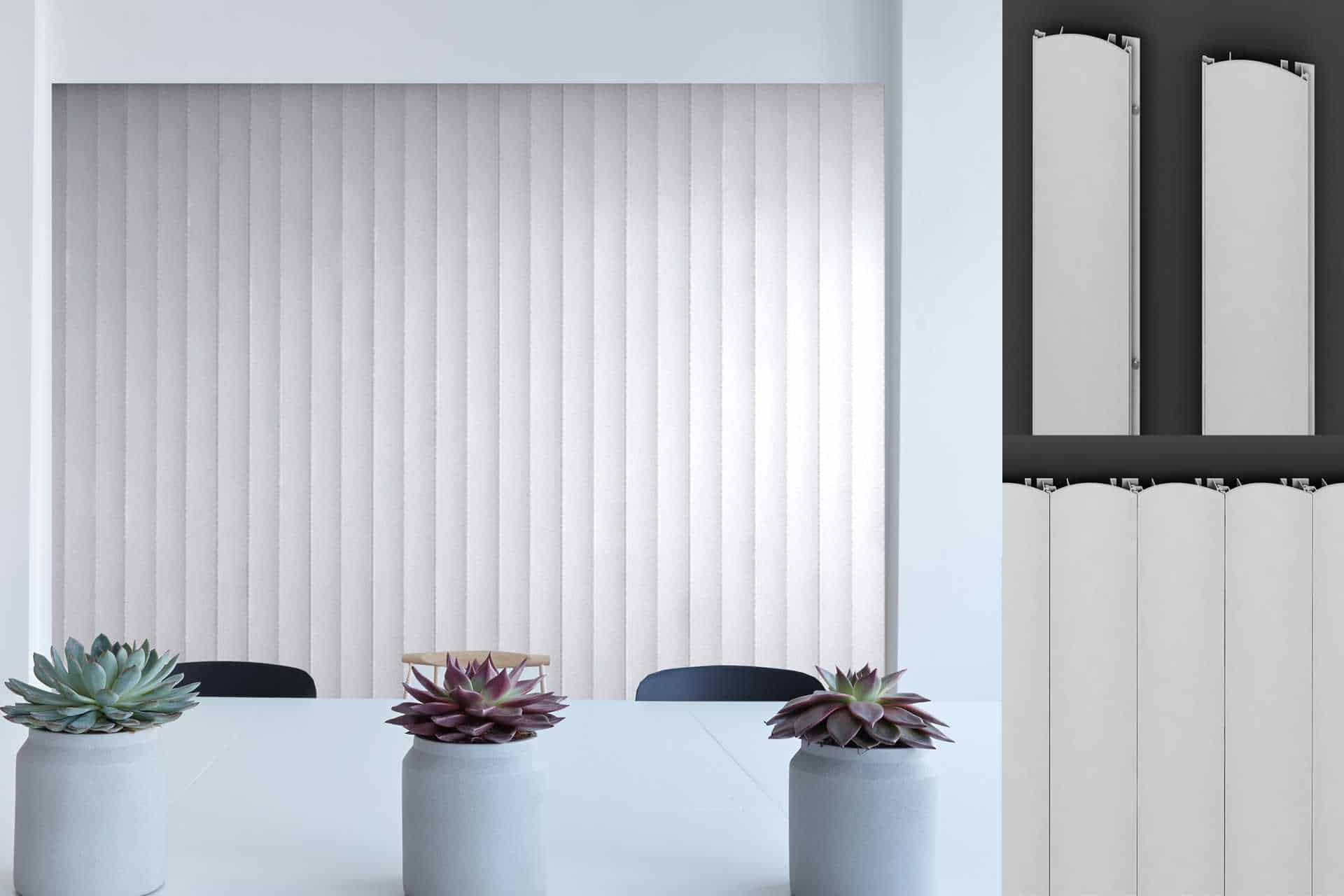 aluminum curved panels used on walls of a living room or office wall add to the aesthetics