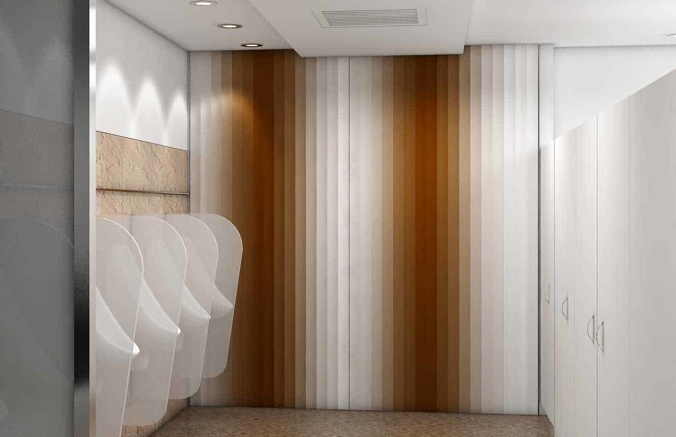 wall panels can be finished in different shades to create beautiful effect