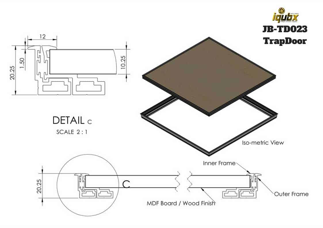 Access Ceiling Trap Door An Innovative Access Hatch System