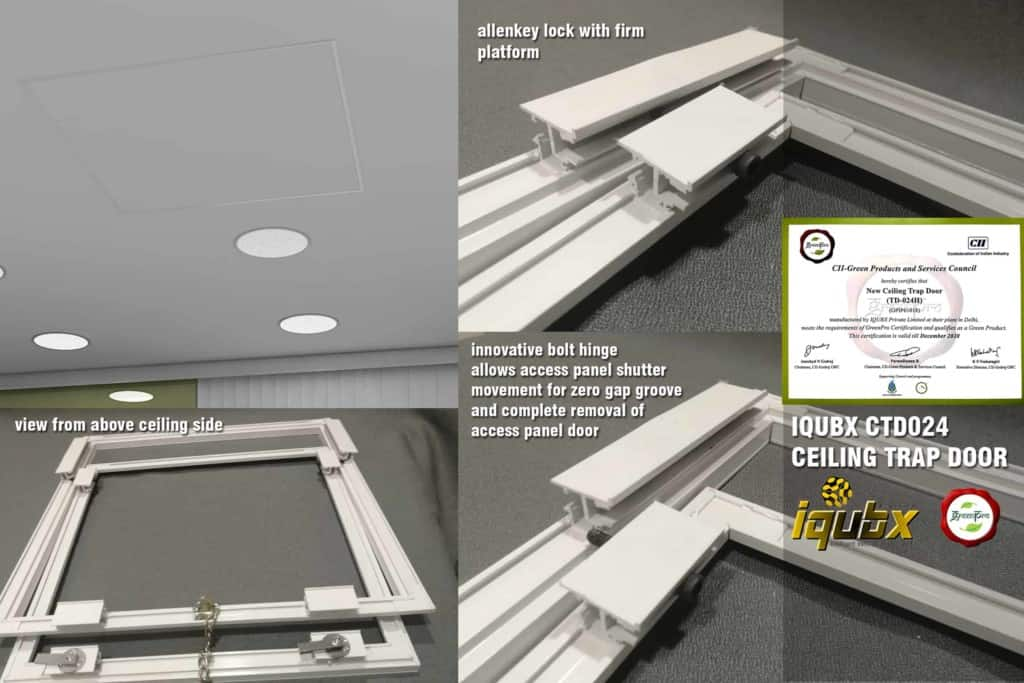 Access Ceiling Trap Door Greenpro Certified Access Hatch