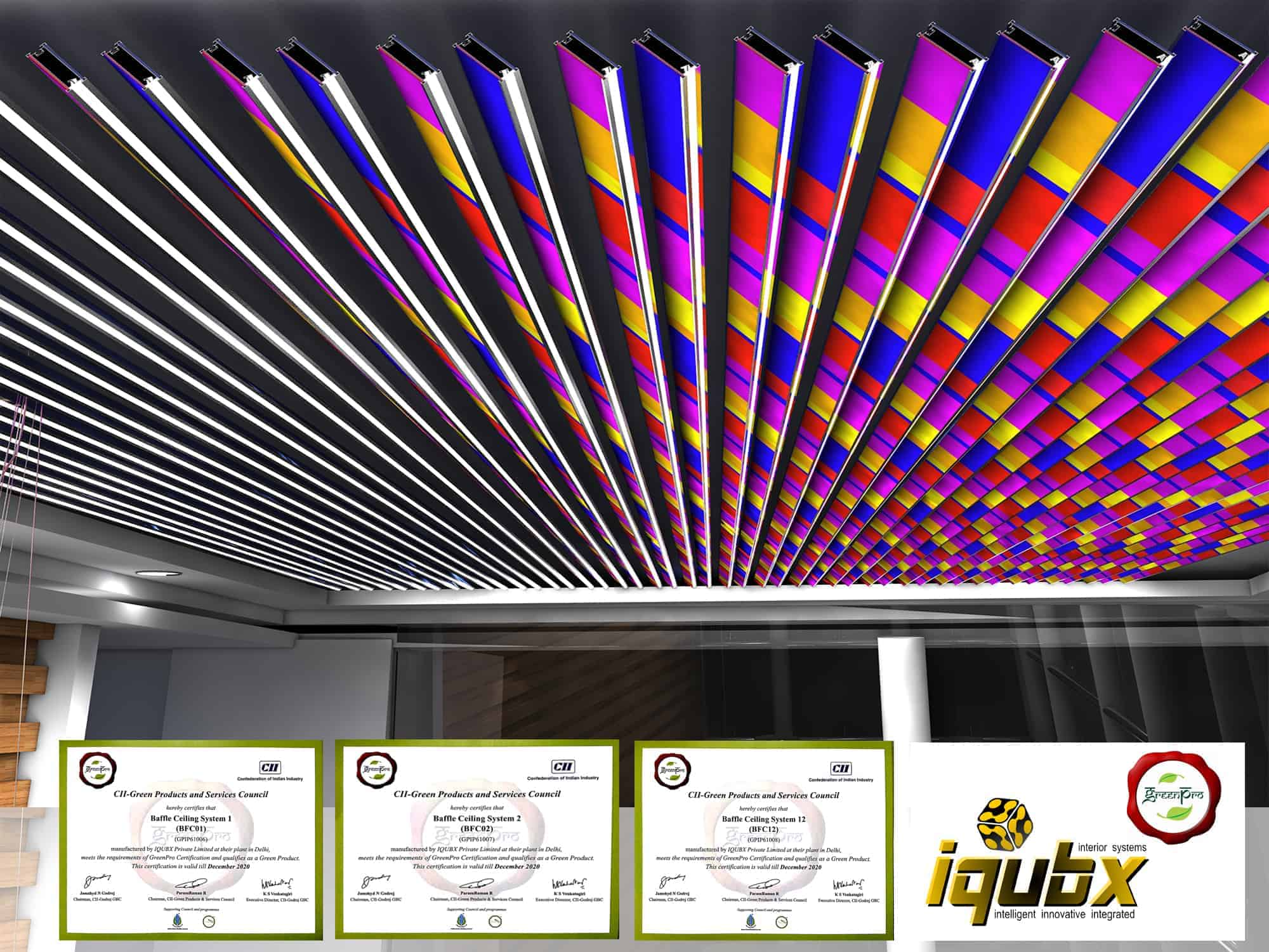 Iqubx Greenpro Certified Modular Multifinish Acoustic
