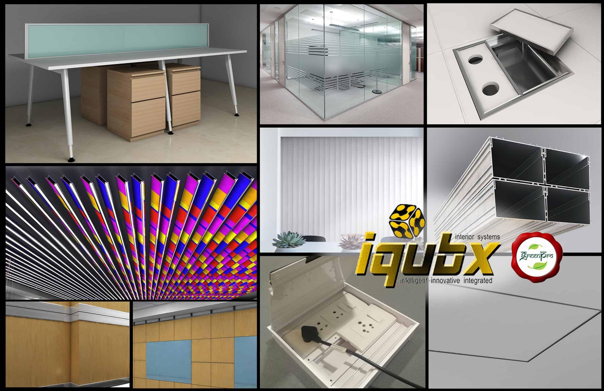iqubx product collage published in buildotech magazine